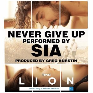 Lirik Lagu Never Give Up - Sia dan terjemahan bahasa indonesia dari album lion single terbaru chord kunci gitar, download album dan video mp3 terbaru 2017 gratis